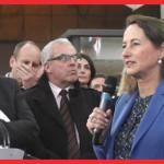 La ministre de l'Ecologie de l'Énergie et du Développement de France Mme Ségolène ROYAL inaugurait le Salon Pollutec de Lyon. The Bridge MAG. Image