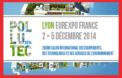 Renewable energy is the zeitgeist: The Pollutec fair in Lyon, France last December 2nd to 5th 2014. The Bridge MAG. Image