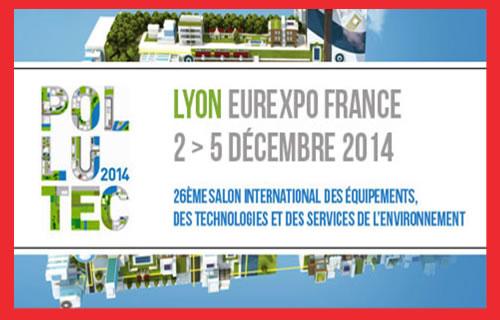 L'énergie renouvelable est le zeitgeist: Salon Pollutec de Lyon en France, du 2 au 5 Décembre 2014. The Bridge MAG. Image