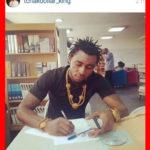 Le jeune rappeur camerounais Jordan Tchakounté, alias Tchakdollar King se produit à Londres cet été. L'étoile montante devient un phénomène mondial depuis que les ventes de son dernier album crève le plafond. The Bridge MAG. Image