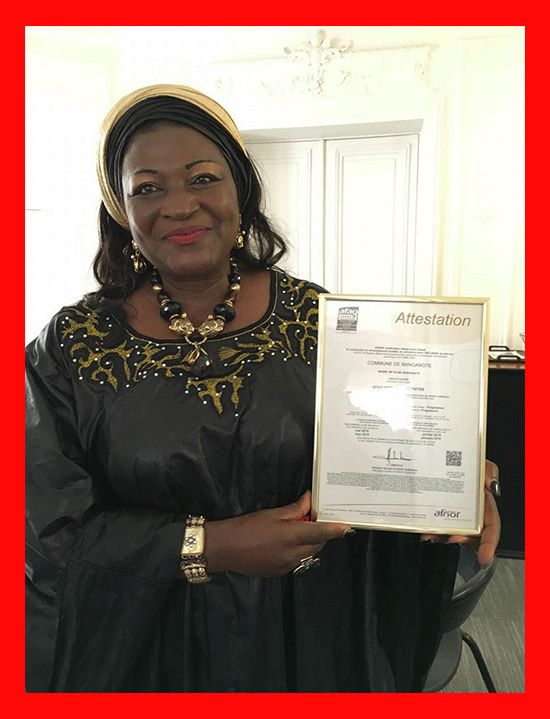 President of the Network of Locally Elected Women of Africa (REFELA) and Mayor of Baganté , Mrs. Celestine Ketcha Courtès has managed to shape up a world-class profile that has thrust her into the global diplomacy limelight. The Bridge MAG. Image