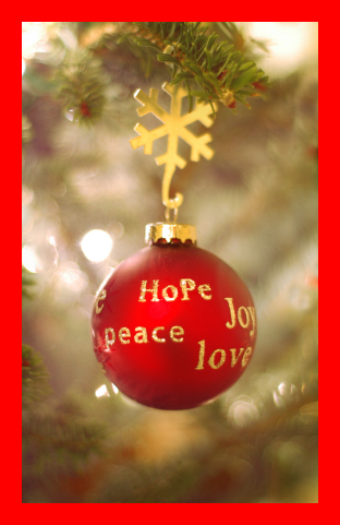 The gift of love, the gift of peace, the gift of happiness to every child around the world this Christmas. The Bridge MAG. Image