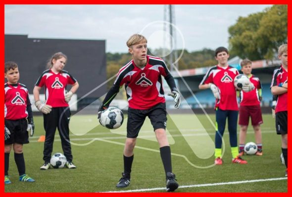 """Fancy being England's next No1? GK Icon will take you to the next level. Backed by a wealth of vastly experienced ex-professionals, GK Icon is a global coaching academy providing youngsters with all the tools required to develop their goalkeeping game."" R. Lee The Bridge MAG. Image"