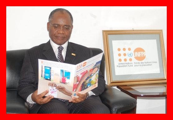 "Throwback in 2009 Head of the (UNFPA) in (DRC) ""In an increasingly materialistic world, having little need is already a wealth. Growing up in Cameroon has taught me the value of not being envious."" Dr Richard . Dackam Ngatchou The Bridge MAG. Image"