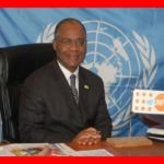 Throwback in 2009 when Richard Dackam Ngatchou was acting as Head of the United Nations agency, (UNFPA) Democratic Republic of Congo (DRC) The Bridge MAG. Image