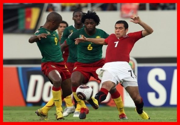 'Finale de la  Coupe d'Afrique des  Nations 2017 :Cameroun 2 –Egypt 1  Photo souvenir .' Plus brutale encore  était l'affront subi par les Lions  Indomptables  du Cameroun,  pour n'avoir pas été qualifié pour la coupe du monde. The Bridge MAG. Image