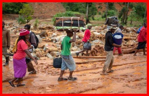Du Royaume-Uni à la Nouvelle-Zélande, en passant par le Mozambique, le Soudan,  le Sri Lanka et le Cameroun, voire  jusqu'en  France, même le détail  géographique n'a pas empêché une synchronicité d'horreurs à  l'approche de la  Pâques. Pour certains, ceci est un mauvais présage. The Bridge MAG. Image